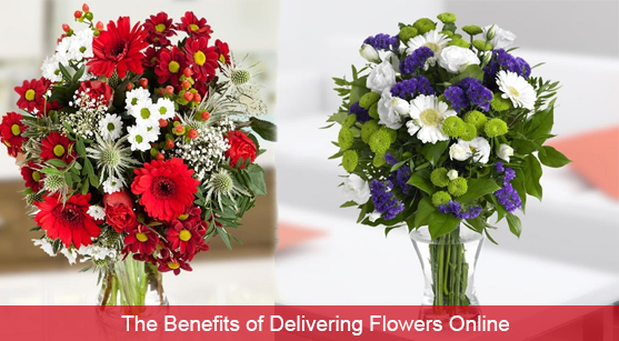 The Benefits of Delivering Flowers Online