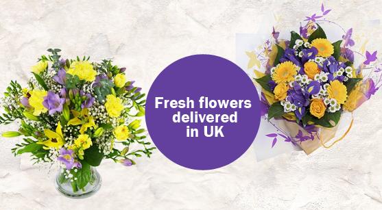 The First Steps of Making a Flower Arrangement