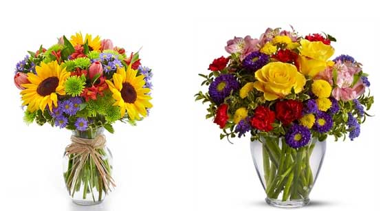 Flowers help in reducing the post term depression after pregnancy